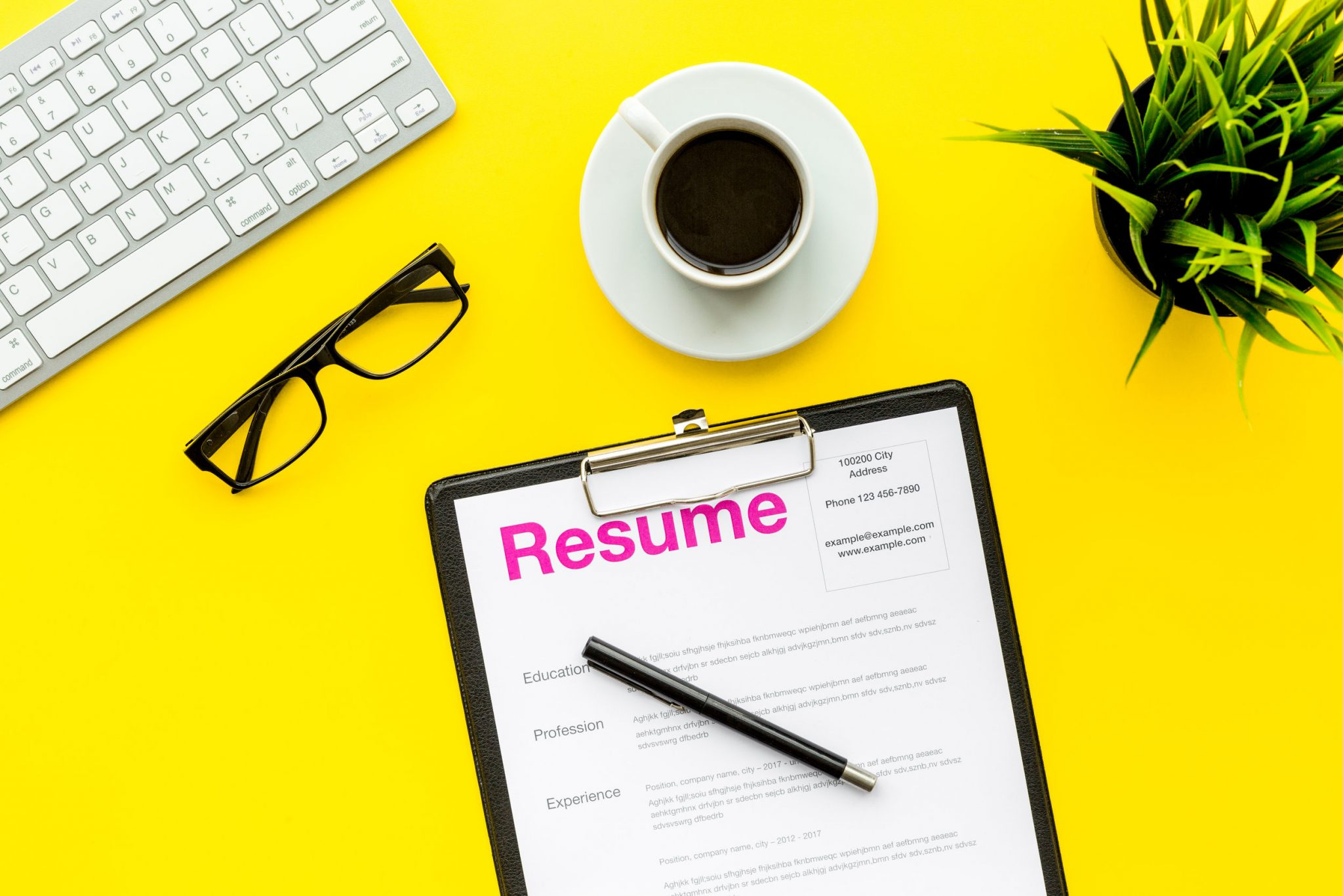 Drop these buzzwords from your resume immediately image