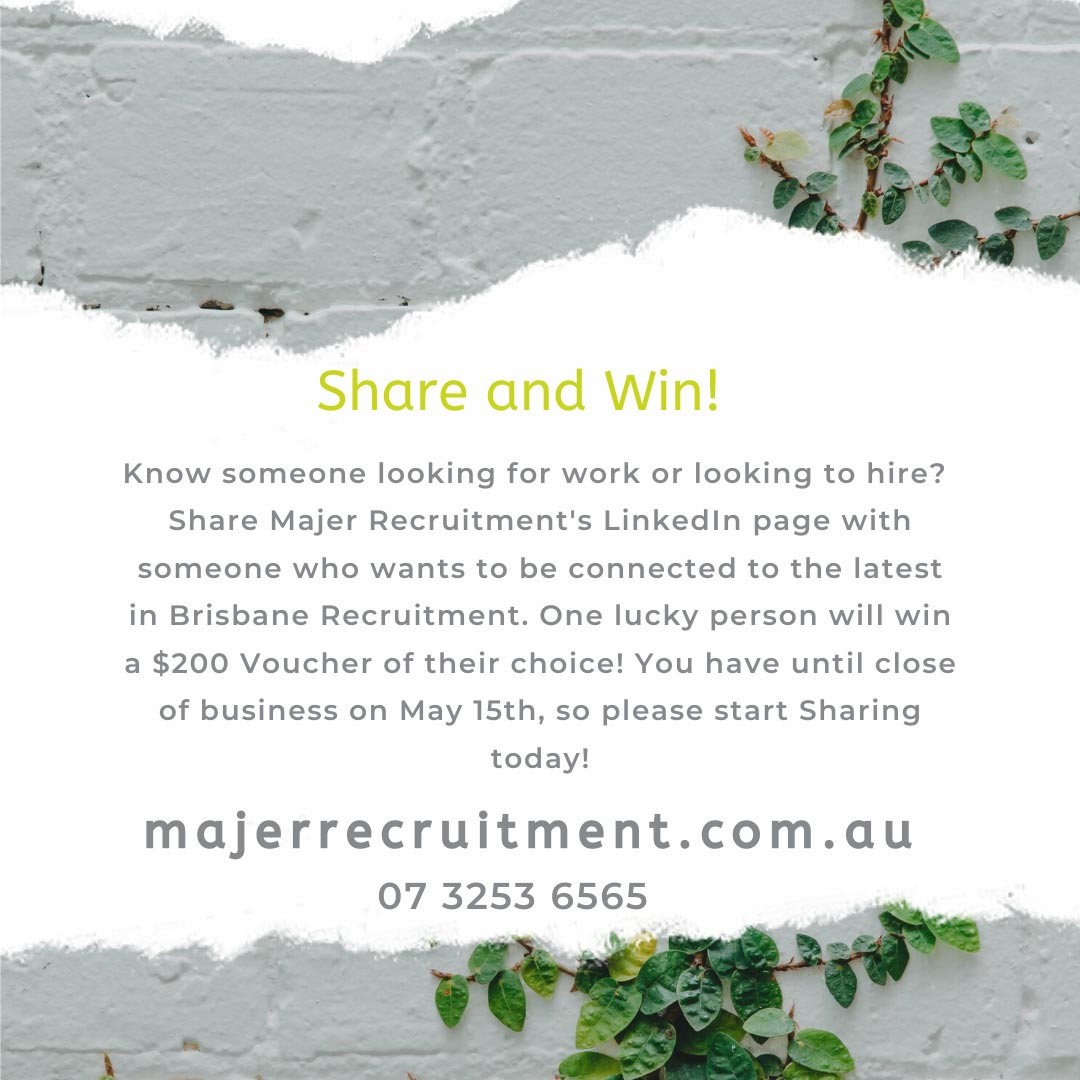 Share and Connect with Majer Recruitment image