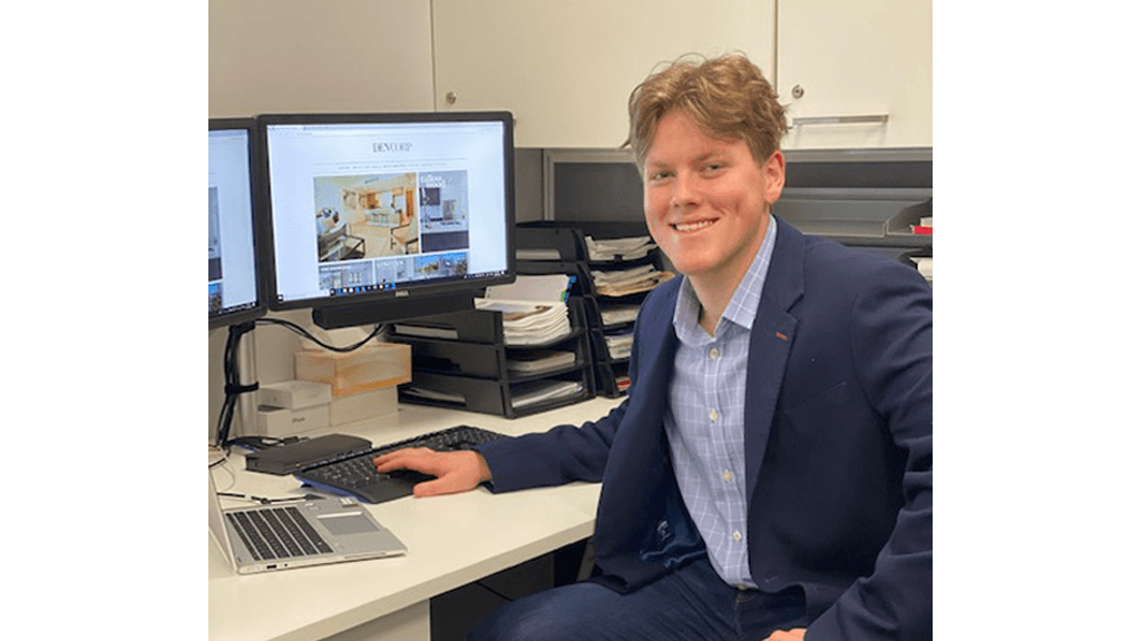 Internship with Devcorp cements career path for Tom image